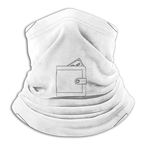 Cartera grande geométrica repetida para cualquier pasamontañas cara M-Ask protección UV para hombres y mujeres parasol táctico negro fresco