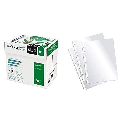 Navigator Universal Papel de impresión 2500 hojas (A4, 5 x 500 hojas, 80 g/m2) + Plus Office...