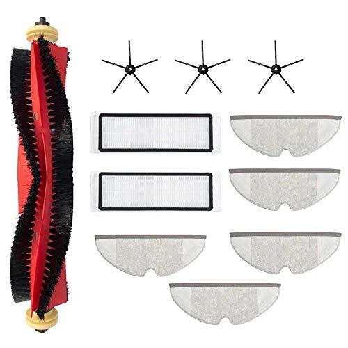 Gesh 11 piezas de repuesto para aspiradora, accesorios de filtro HEPA para fregona, trapos para S5 MAX S6