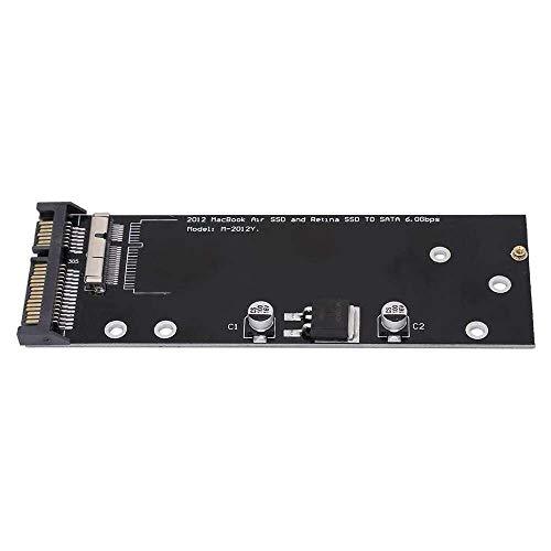 Yuyanshop SSD Converter Adapter Card, SSD to SATA Adapter Convert Card for 2012 MacBook Pro A1398 A1425 Air A1466 A1465