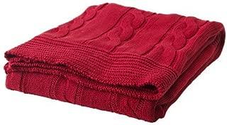 Ikea Throw, red 71x47