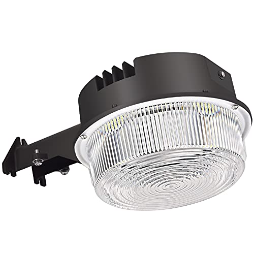 LED Barn Light 50W, SZGMJIA Dusk to Dawn Outdoor Yard Lighting with Photocell,CREE LED 5000K Daylight 6500lm, 300W MH/HPS Replacement, 5-Year Warranty, IP65 Waterproof for Security / Area Light