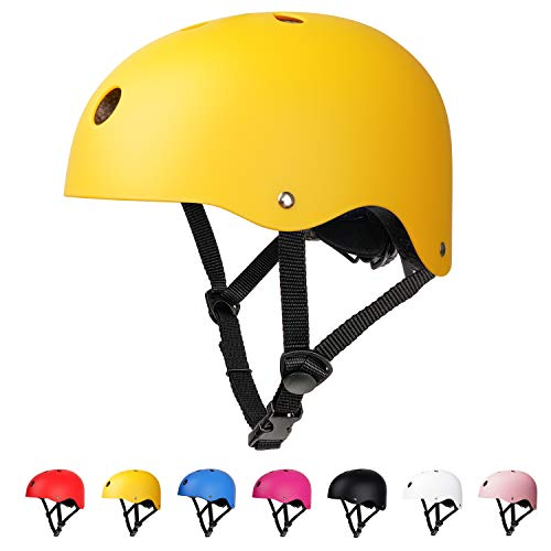 arteesol Kids Helmet,Toddlers Skate Helmet for Age 3-13 Boys Girls, CE Certified Adjustable Bike Helmet for Cycling Skateboarding Scooter Roller Skate