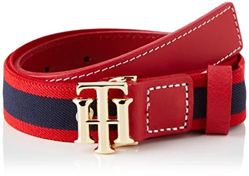 Tommy Hilfiger TH Logo Kids Elastic Belt 3.0 Set di Accessori Invernali, Corporate Mix, M Unisex-Bambini