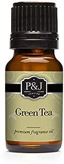 green tea scented oil