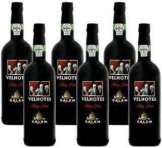 Portwein Calem Velhotes Ruby - Dessertwein - 6 Flaschen
