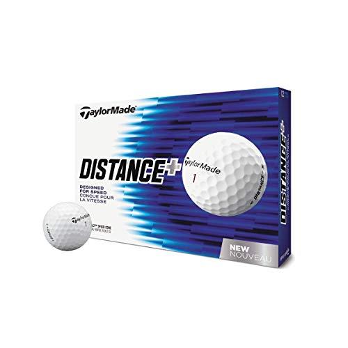 TaylorMade Distance+ Lot de 12 balles