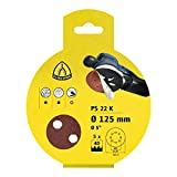 Klingspor 278812 Papel Abrasivo, Sujeción Velcro