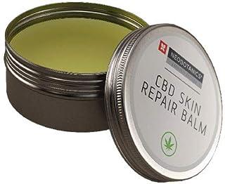 NEOBOTANICS SOS Repair Sensitive Hanf CBD Balsam mit dem Wirkstoff Cannabidiol. Gegen Neurodermitis, Schuppenflechte, Ekzeme. Linderung bei juckender und sehr trockener Haut mit Sheabutter & Jojoba