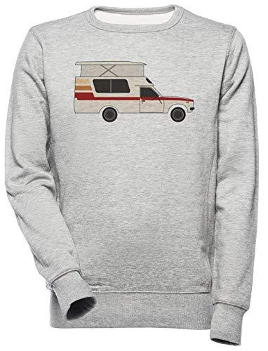 Retro Chinook Kampeerder - Kampeerder Vrachtauto Unisex Mannen Dames Trui Sweatshirt Unisex Men's Women's Jumper