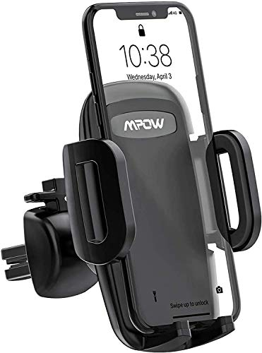 Mpow Car Phone Holder, Air Vent Phone Mount with 3-Level Adjustable Clamp...