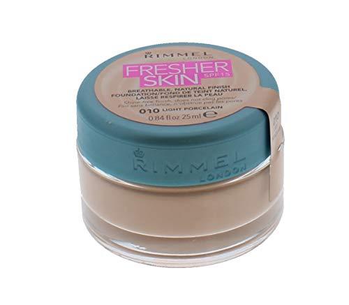 Fondotinta Fresher Skin di Rimmel London, numero 010, da 25ml