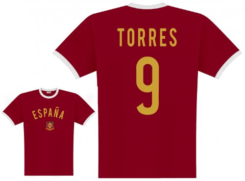 World of Football Player Shirt Spanien Torres - L