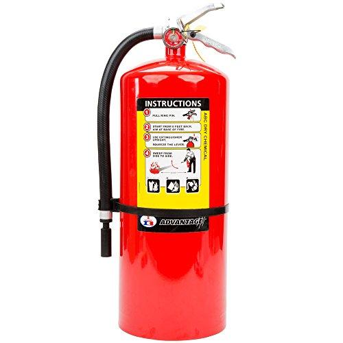 Badger Advantage 20 lb ABC Fire Extinguisher w/ Wall Hook – 6A:80B:C