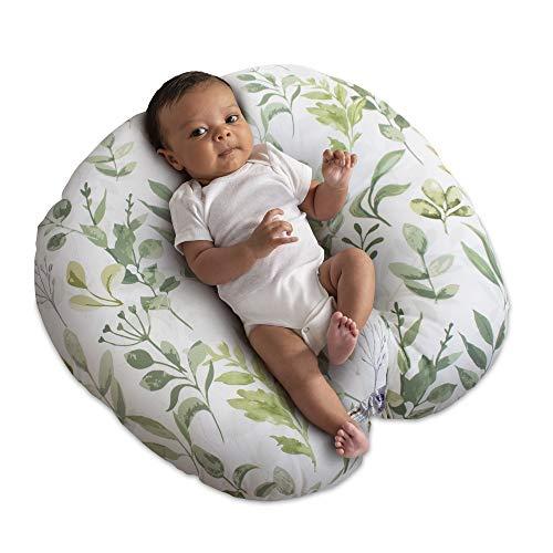 Boppy Original Newborn Lounger, Green Leaf Decor