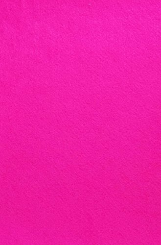 Felt (Fuchsia Pink - PMS 225) Sticky Back, A4 Sheet (8.27' x 11.69'), Thickness 2 mm, self-Adhesive, Durable and Water Resistant, Multi-Purpose, for Art & Craft Making, 2 Sheets (P31)