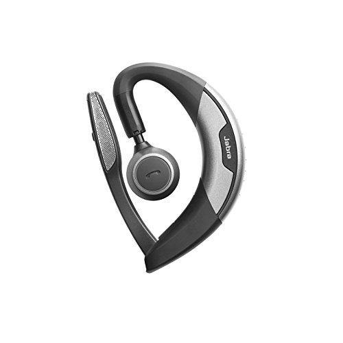 Jabra Motion Bluetooth Mono-Headset (kabelloses In Ear Headset zum telefonieren mit Comfort Eargels und Sprachführung, geeignet für Handy, Smartphone, Tablet und PC) schwarz