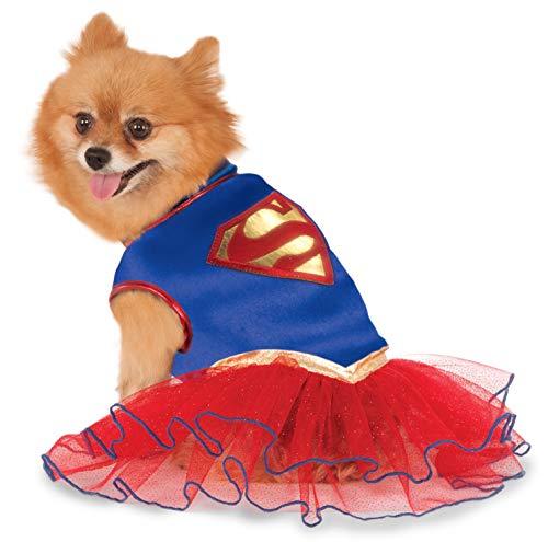 Rubies DC Comics - Disfraz de tutú para Perro, diseño de Supergirl