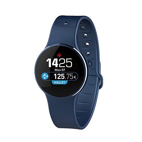 MyKronoz krzecircle2Activity Tracker, Blue/Blue, Universal