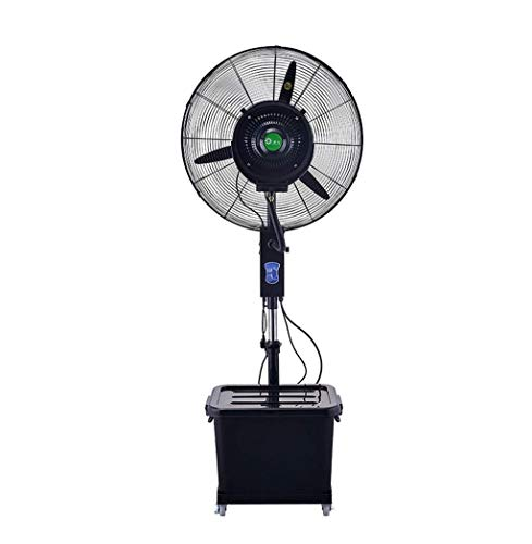 Daily Accessories Household energy saving cooling fan Pedestal Fans Oscillating Cooling Misting Spray Fan Large for Outdoor Industry Business Humidifier Electric desktop fan
