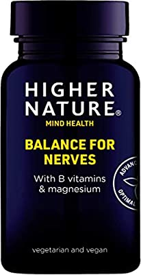 Higher Nature Balance for Nerves - 30 Capsules