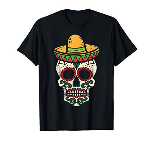 Sugar Skull Sombrero Cinco De Mayo...
