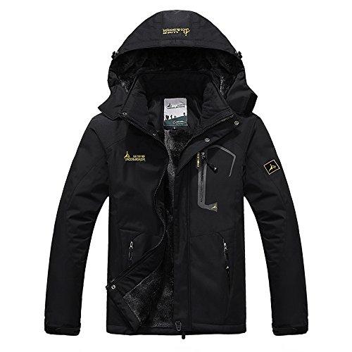 R RUNVEL Winter Coats Women Ladies Waterproof Jackets Fleece Ski Jacket...