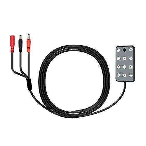 PARKVISION Rückfahrkamera Auto Tastatur Controller nur für Modell 115SW 180 ° Multiview Rückfahrkamera zur Einstellung von Parkleinen und Bildern[Keyboard]