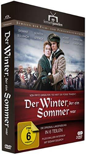 Der Winter, der ein Sommer war - Die Original-Langfassung in 6 Teilen + BONUS-DVD - Fernsehjuwelen [4 DVDs]