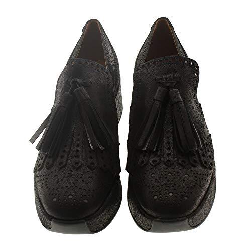 Zapatos Mujer Mocasines Naúticos Pons Quintana 7122 Negro 39