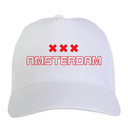 Tipolitografia Ghisleri muts geborduurd Ajax wit