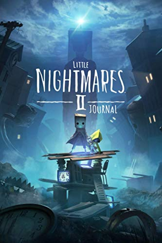 Little Nightmares 2 Journal: THE OFFICIAL JOURNAL NOTEBOOK Gaming Notepad RULED