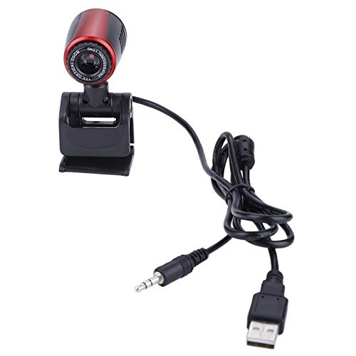 Asixxsix USB Camera, Laptop Camera, with Microphone HD 300,000 Pixels PC for Computer