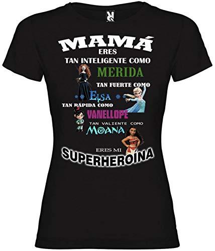Desconocido Camiseta Mama HEROINA Princesa (XL)