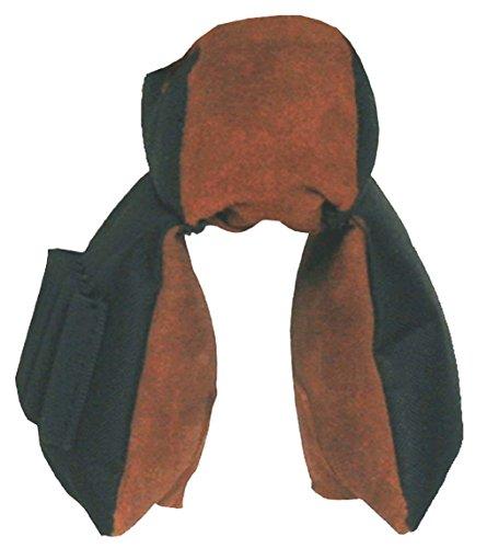 Croots Rosedale - Bolso de tela y piel para tiro al plato (capacidad para 100 cartuchos)