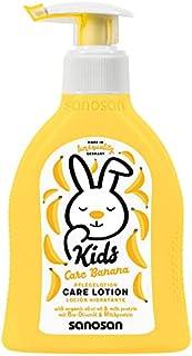 لوشن للجسم برائحة الموز للاطفال من سانوسان، 200 مل