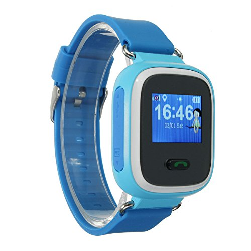 Best Deals! ANDROSET Q60 Kid GPS Smart Watch Wristwatch SOS Call Location Finder Tracker Anti Lost, ...