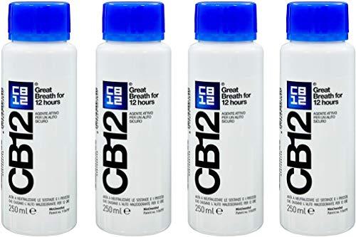 Mundwasser CB12 250ml 4er Packung Minze / Menthol