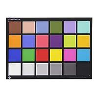 Huanyu 24色 Color Checker カラーリファレンスツール 21.59*27.94cm 色測定·色補正·色調再現·RAW現像 写真 撮影 フィルム