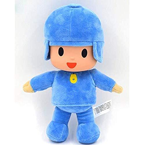 Quanshijie Peluches Pocoyó muñecos de Peluche, muñecos Blandos, Juguetes para niños, Regalos de cumpleaños de Navidad para niños 26 cm 1p