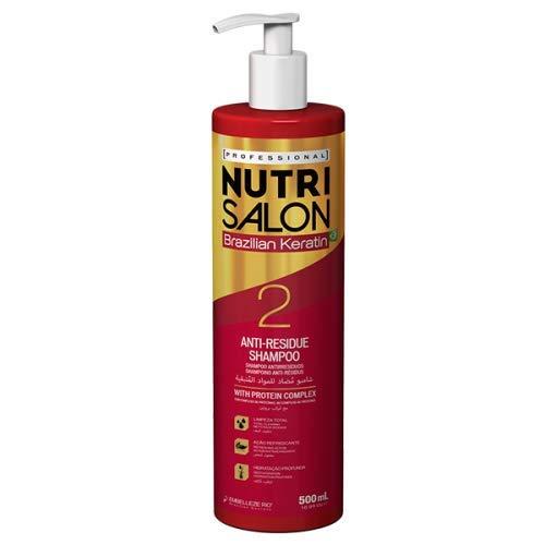 Novex Nutrisalon Shampoo Brazilian Keratin 500Ml 500 ml