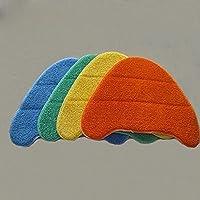 YYCHER Vaxのための三角形のモップの布の洗浄の洗浄可能なモップパッドの洗浄 S85-CMスチームモップラグ部品(カラー:グリーン) (Color : Orange)