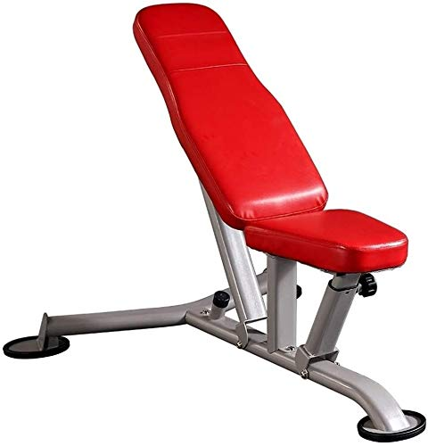 LAMTON Panca Regolabile Panca Pesi for Full Body Workout Esercizio, Flat Bench/Incline/Decline Allenamento di Esercizio Multi