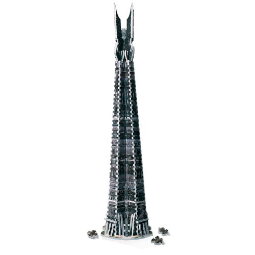 Wrebbit - 34501 - Isengard - Orthanc Tower: Lord of The Rings - 3D-Puzzle