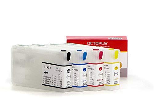 Cartuchos de tinta rellenables compatibles para Epson 79, cartuchos de impresora para Epson Workforce PRO WF-4600, 4630, 4640, 5100, 5110, 5190, 5600, 5620, 5690