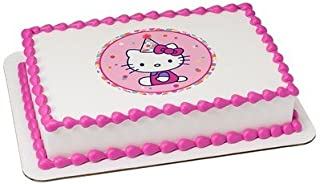 Hello Kitty Licensed Edible Cake Topper #38926