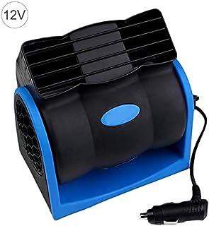 Auto Ventilator Autokühlung Lüfter Elektrische Autolüfter Geschwindigkeit Einstellbare Silent Cooler Vent Fans High Velocity Gebläse Für Auto SUV Truck, Blau 12 V