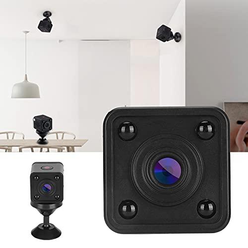 Qinyayoa Cámara de vigilancia de visión Nocturna, ABS WiFi Pequeña cámara de vigilancia de 1920 X 1080P para el hogar para detección de Movimiento para Seguridad para Tiendas