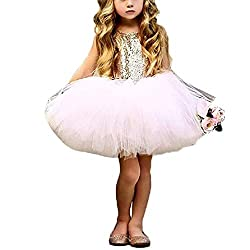 A-Pink Toddlers Sequin Tutu Dress