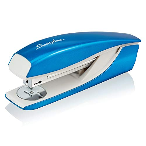 Swingline Stapler, NeXXt Series Wow, Desktop Stapler, 40 Sheet Capacity, Blue (55047036)